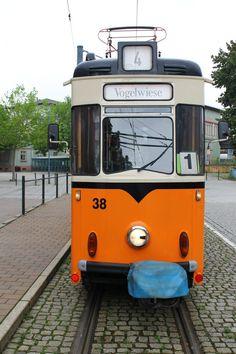 Strassenbahn in Naumburg(Saale)