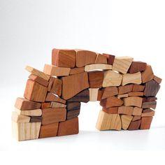 Trockenbau-Mauern als Spiel (Christian Lessing Mauerspiel)