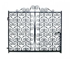 1930'S IRON SIDE GATE - UK Architectural Heritage