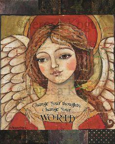 Change Your World 8x10 print by Teresa Kogut
