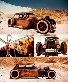Rat Rod Mini Cooper This Thing Is Freaking Cool Wouldnt
