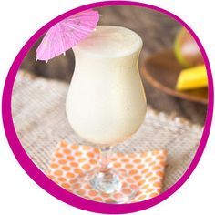 Low-Calorie Summer Cocktail: Mango Colada