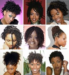 natural hair styles | Natural Black Hairstyles | The Glamourous Life: Celebrity Fashion ...