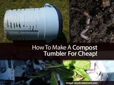 If you garden the benefits of having a compost pile are hard to deny. A compost pile will give you a steady source of nutrition and fertile soil for your plants. Compost piles also allow you to get rid of wasteful products you have sitting around the house. Store brought compost... #spr #sum