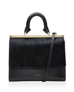Ted Baker Luci Top Handle Leather Satchel | Bloomingdaleu0027s