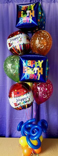 251 Best Balloon Bouquet Images On Pinterest In 2018 Balloon