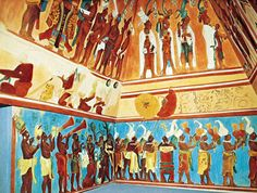 Bonampak Murals - Picture of Chiapas, Southern Mexico - Tripadvisor Tempera, Architecture Maya, Fresco, Origin Of The World, Latin American Music, Aztec Ruins, Temple Pictures, Mesoamerican, African History