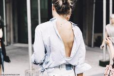 New_York_Fashion_Week-Spring_Summer-2016--Street-Style-Lacoste-Masculine_Shirt-Open_Back-