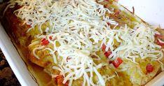 Obiad - kurczak zapiekany z porem i mozzarellą