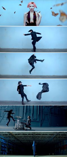 "Stills from 30 seconds to mars video ""up in the air"""