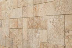 Travertine Mosaic - Empire Series - Botticelli Beige / Pattern / Honed and Filled