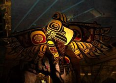 """Bc first nations art at the Vancouver Airport made by """"Connie Watts"""" @ chims studios in port alberni"""