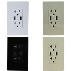 TOPGREENER-TU2204A-4A-High-Speed-Dual-USB-Charger-Outlet-20A-Tamper-Resistant