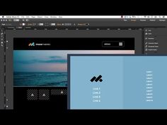 Groundbreaking animated navigation in Adobe Muse with the Square Menu Navigation Widget. #adobemuse