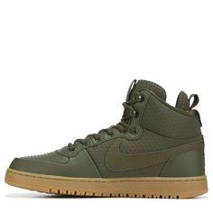 8e11f97c490e Nike Men s Ebernon Winter Mid Top Sneakers (Olive Gum)