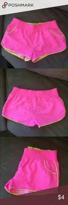 Hot Pink Shorts Women's size Small (3-5) Op brand hot pink shorts, never worn! Lightweight and comfortable Shorts