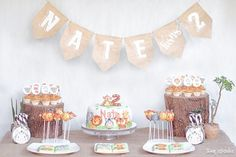 We're getting all giddy over this adorable zoo keeper-themed birthday party! See it at babyandbreakfast.ph now! Link in profile. Photo: @tiny.sparks by babyandbreakfast