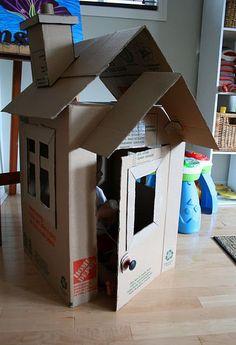 Resultado de imagen para chimeneas de navidad de carton