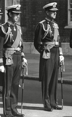 Prince Charles attends Lord Mountbatten's funeral service with the Duke of Edinburgh in September 1979 Prince Charles And Camilla, Prince Phillip, British Monarchy History, British History, Gerry Adams, Isabel Ii, House Of Windsor, Duchess Of Cornwall, Lights
