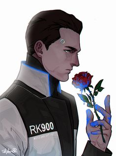 The price of your existence. Detroit become human RK900 By: k-axani.tumblr.com