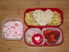 easy valentine bento lunch box