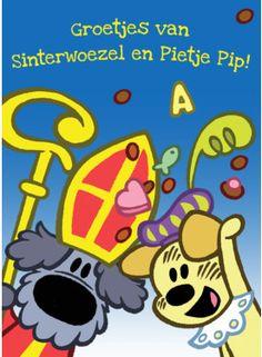 Sinterwoezel en Pietje Pip- Greetz