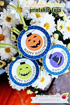 This item is unavailable Halloween Paper Crafts, Halloween Lanterns, Halloween Party Favors, Happy Halloween, Party Favor Bags, Favor Tags, Address Stickers, Custom Labels, Illustrations