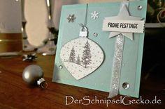Stampin Up - Fröhliche Stunden / Am Christbaum - Weihnachtskarte DerSchnipselGecko.de http://dini.derschnipselgecko.com/category/meine-kreationen/weihnachtskarten-2015/