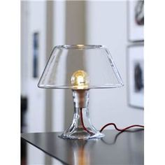 Holmegaard One bordlampe, klar, lille