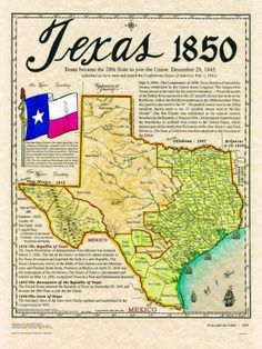 Historical Texas Maps, Texana Series