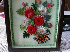 Quilled and Framed Floral Art - by: Стела Николова-Bulgaria