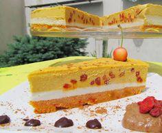 Goji raw cake Goji Berry Recipes, Raw Food Recipes, Healthy Recipes, Raw Desserts, Cookie Desserts, Raw Cake, Food Is Fuel, Sweet Life, Raw Vegan
