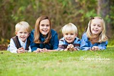 Fall portraits • Family portraits • Siblings • Heather Durham Photography • Birmingham, AL family & kids photographer
