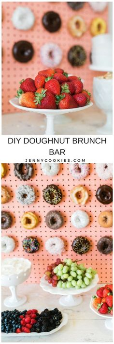 DIY Doughnut Brunch