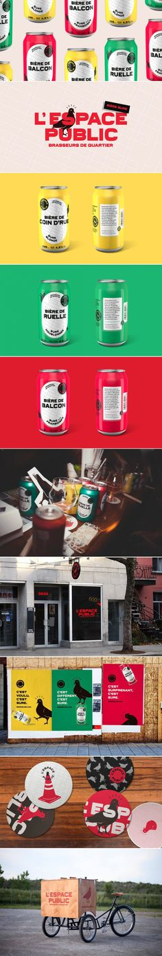 L'Espace Public — The Dieline | Packaging & Branding Design & Innovation News
