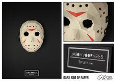 Dark Side of Paper Jason Voorhess : Jason of Friday 13  Monsieur Oscar www.monsieuroscar.com