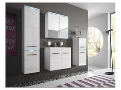 Kúpeľňová zostava Elenia 2 - biela