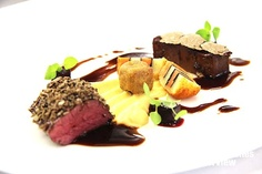 Prime Beef X3 - Rote Bete - Steckrübe - Perigord-Trüffel    Ronny Siewert* @ Festival der Sterne 2012    Trüffel Lunch mit Christoph Rainer** & Ronny Siewert*