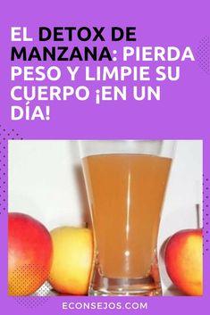 Detox de manzana