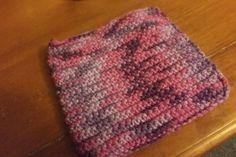 Mother's Day Crochet Potholder, Medium Yarn by HandmadeCraftPassion on Etsy