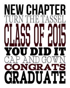 2015 Graduation Subw