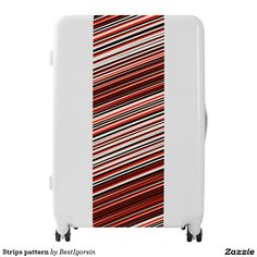 Strips pattern luggage,Artwork designed by BestIgorsin Painting Digital, Third Base, Luggage Suitcase, Artwork Design, Pattern, Patterns, Model, Swatch