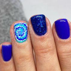Toe Nail Art, Cute Acrylic Nails, Toe Nails, Cute Nail Art Designs, Gel Nail Designs, Super Cute Nails, Pretty Nails, Baby Blue Nails, Sassy Nails