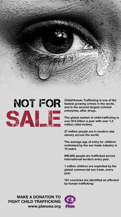 1 million kids exploited every year