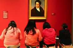 Most students have experienced a field trip to a museum at some point during their primary or secondary education. But how many students could call an art museum their home for five consecutive days during the school year? For two sixth grade classes from the UCLA Community School, the normal routine of getting on a bus to go to school in Koreatown was recently disrupted.