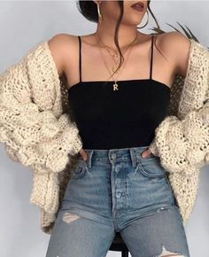 Cute Fall Outfits Ideas 2018 - 50 fall outfit ideas ⋆ Take NoteYou can find Outfit ideas and more on our website.Cute Fall Outfits Ideas 2018 - 50 fall outfit ideas ⋆ Take Note Cute Comfy Outfits, Cute Casual Outfits, Retro Outfits, Stylish Outfits, Cute Outfits For Girls, Outfits For School, Trendy Outfits For Teens, Hijab Casual, Ootd Hijab