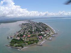 Puntarenas Costa Rica, desde las alturas, Sol playa y mar que mas se le pide a la vida