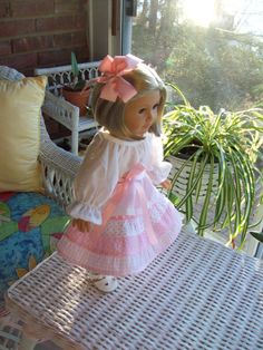 American Girl doll or 18 inch doll outfit Peasant by ASewSewShop, $14.99