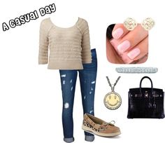 """""""A Casual Day"""" by fashionista-222-jlm on Polyvore"""