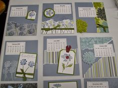 Personally Yours : Throwback Thursday: Stampin' Up! CD Calendar - Heartfelt Thanks
